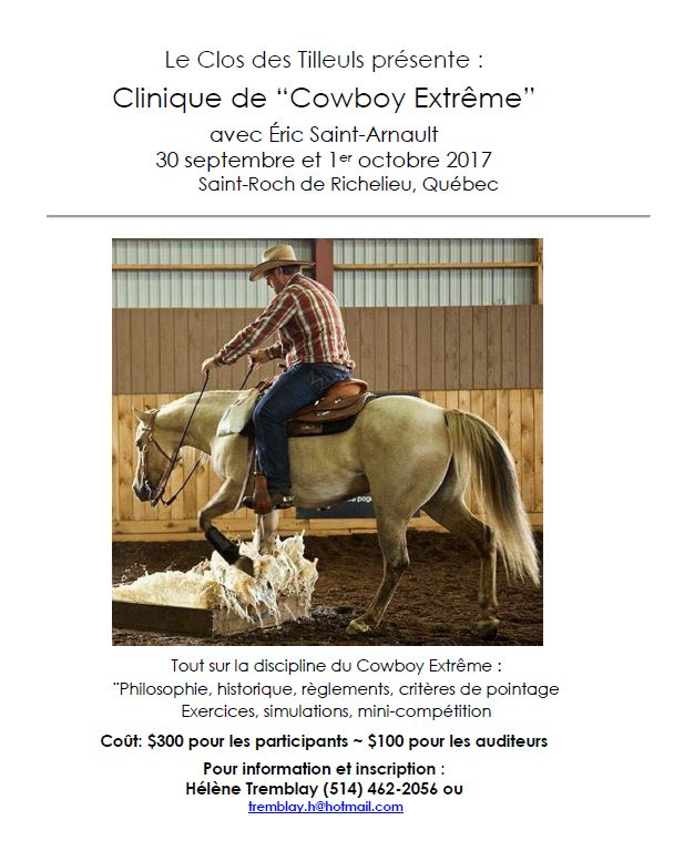 Clinique de « Cowboy Extrême »